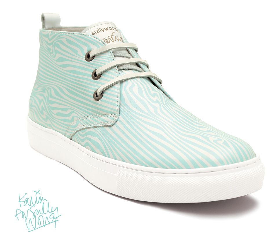 Karim Rashid For Sully Wong Limited Edition Desert Boots Collection