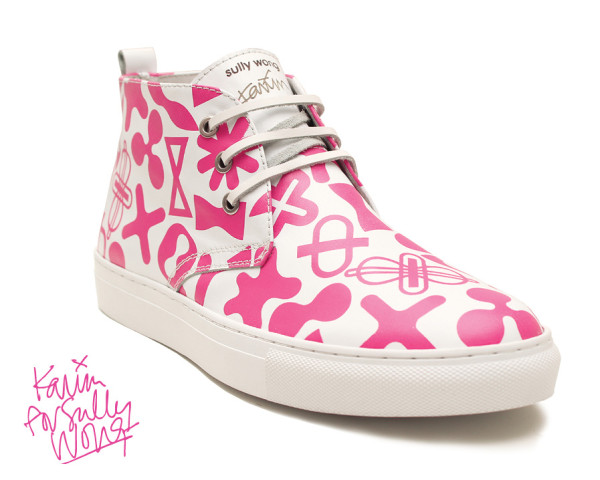 Karim Rashid For Sully Wong Limited Edition Desert Boots Collection in style fashion main  Category