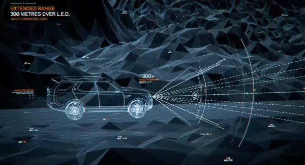 Land Rover Discovery Vision Concept: Laser Guided, Augmented Reality Next Gen SUV in technology main  Category