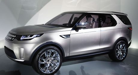 Land Rover Discovery Vision Concept: Laser Guided, Augmented Reality Next Gen SUV