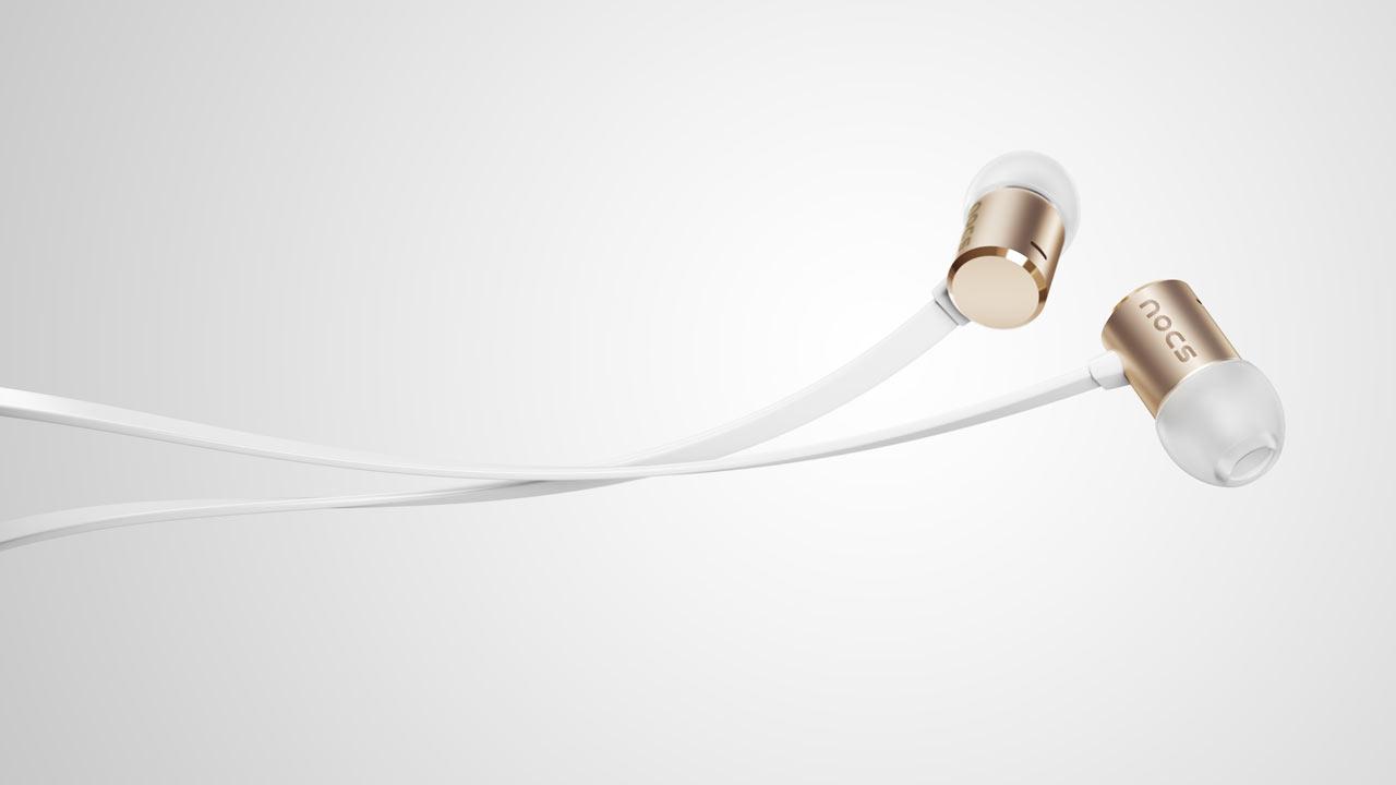 Next-Generation Nocs NS500 Aluminum Earphones