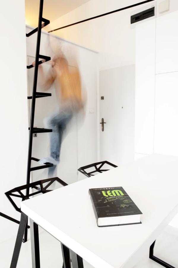 A Graphic, Minimalist Apartment in Poland in main interior design architecture  Category