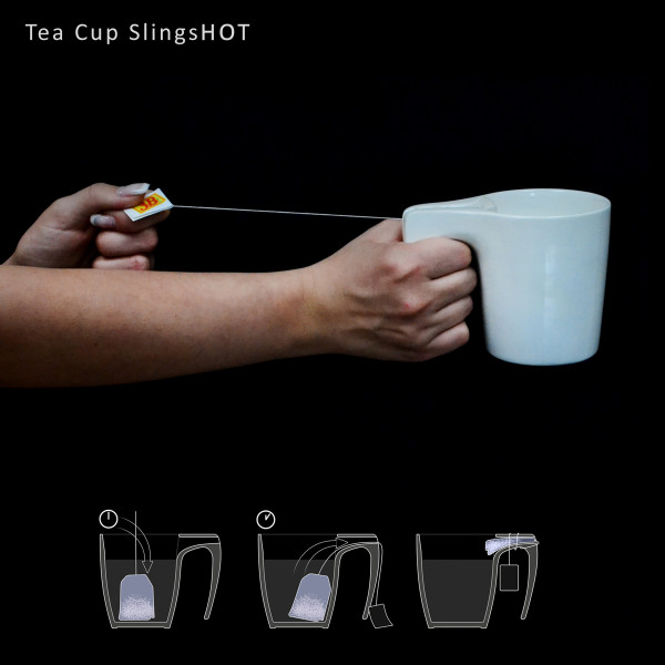 The Tea Cup SlingsHOT Means No More Wet Tea Bags in main home furnishings  Category