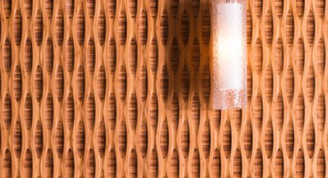 Bamboo Wall Panels That Create a 3D Effect
