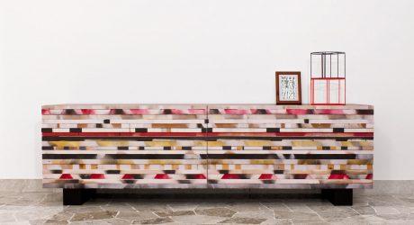 Soninke: A Recycled Wood Buffet by Davide G. Aquini