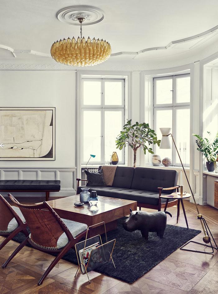 A Stunning Stockholm Apartment