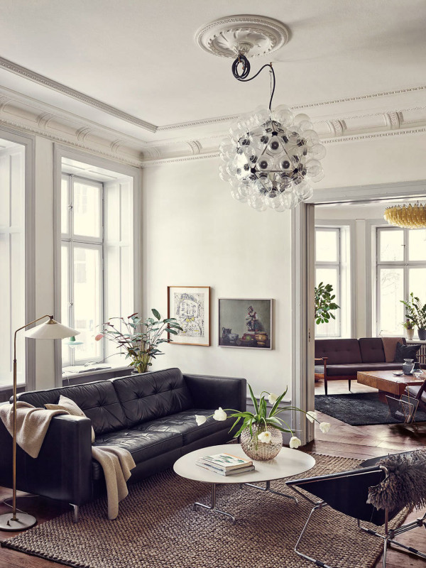 A Stunning Stockholm Apartment in main interior design  Category