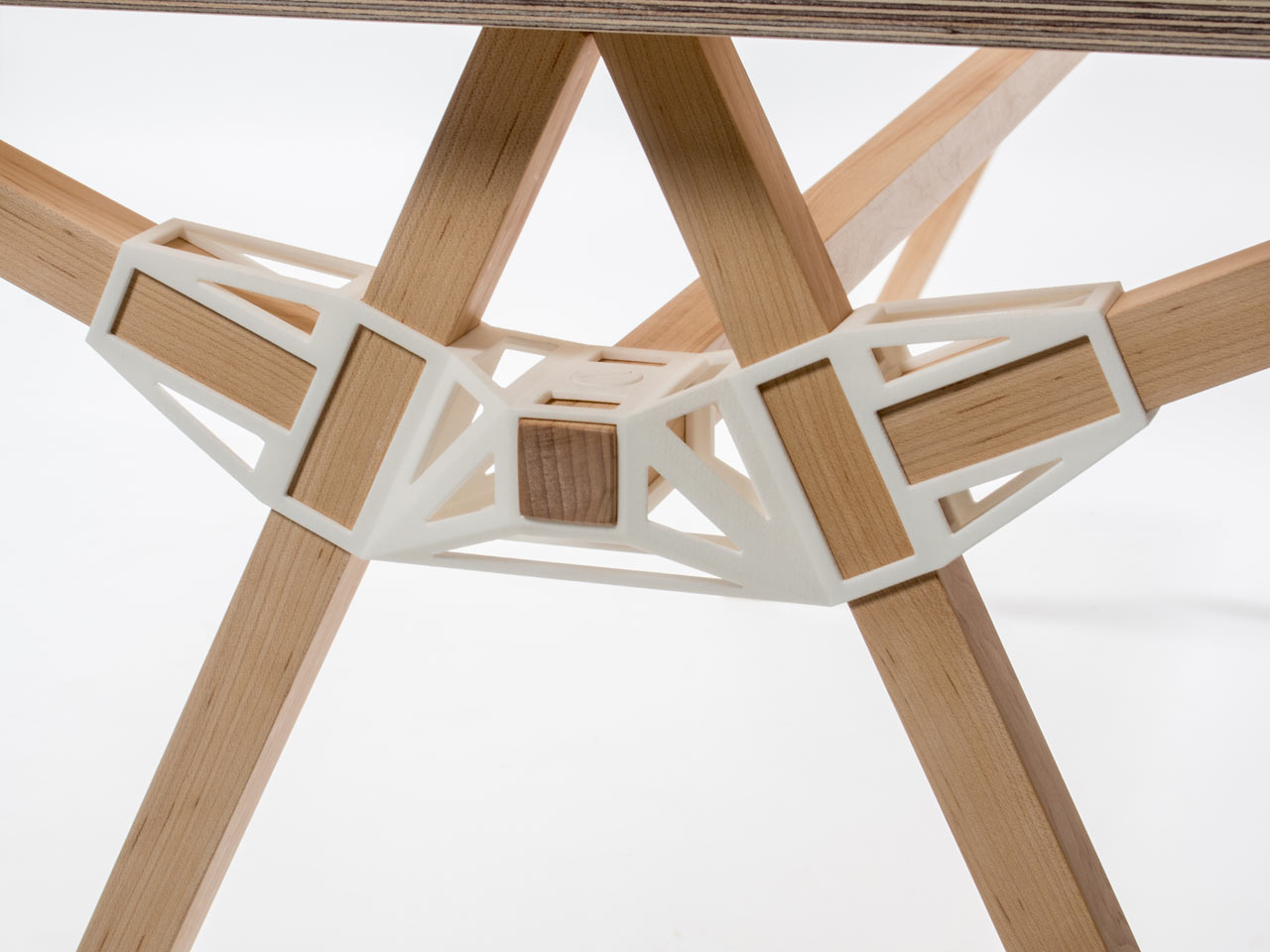 3d printed furniture joinery by studio minale maeda for Furniture 3d printing