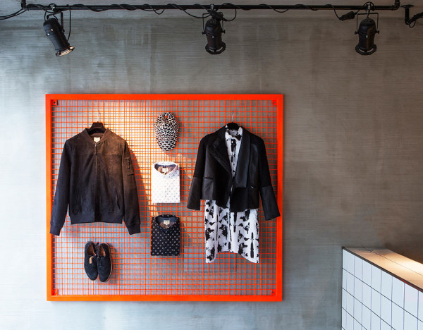 SUIT Store Reykjavík by HAF Studio in main interior design  Category
