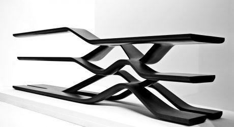 Cantilevered Shelf by Zaha Hadid for CITCO