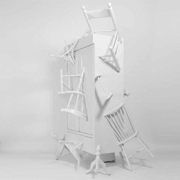 The Trash Closet Raises Awareness of Global Waste  in main home furnishings art  Category