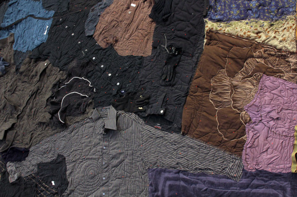 Clothing quilt detail