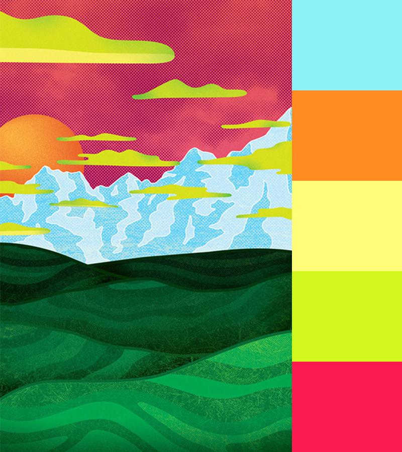 Abstract Landscapes of Joe Van Wetering