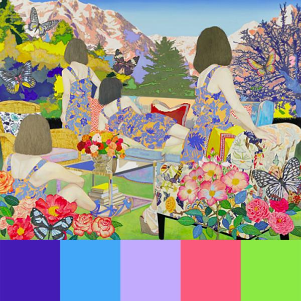 Naomi Okubo's Paintings