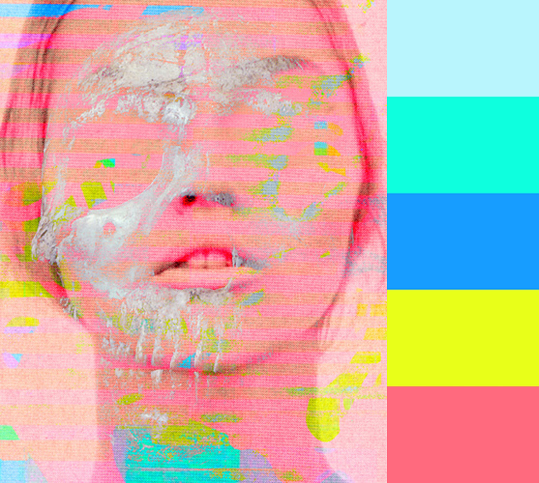 Color-Smeared Portraits by Tchmo