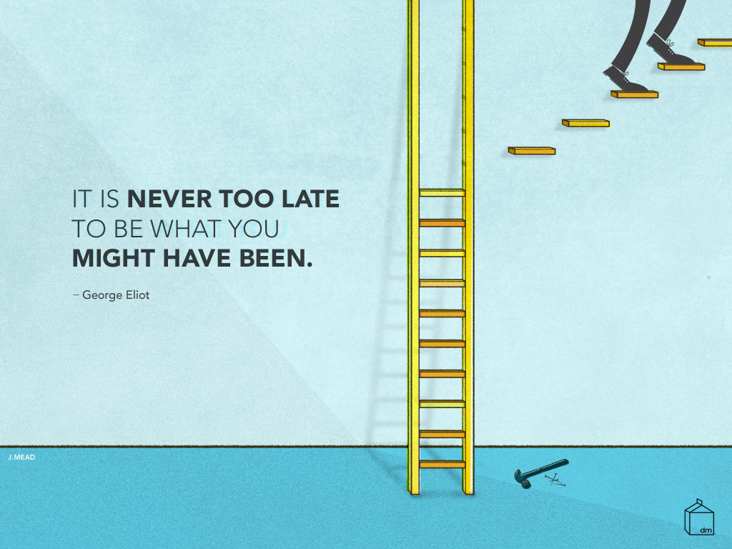 inspiring quote desktop wallpaper - design milk