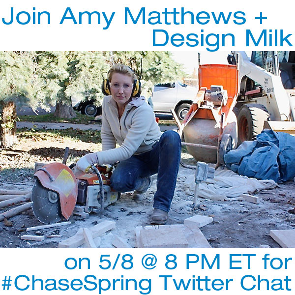 #ChaseSpring Twitter Chat with Amy Matthews