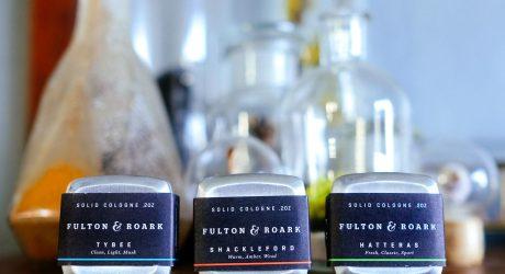 Shatterproof Fulton & Roark Square Solid Cologne