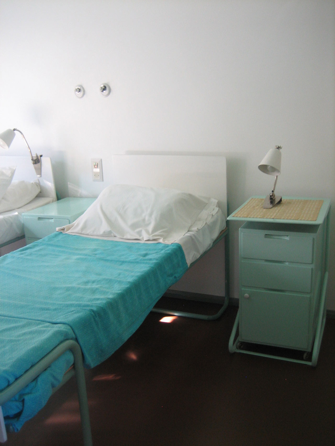Paimio Sanatorium interior, photo courtesy of Beth Dickstein