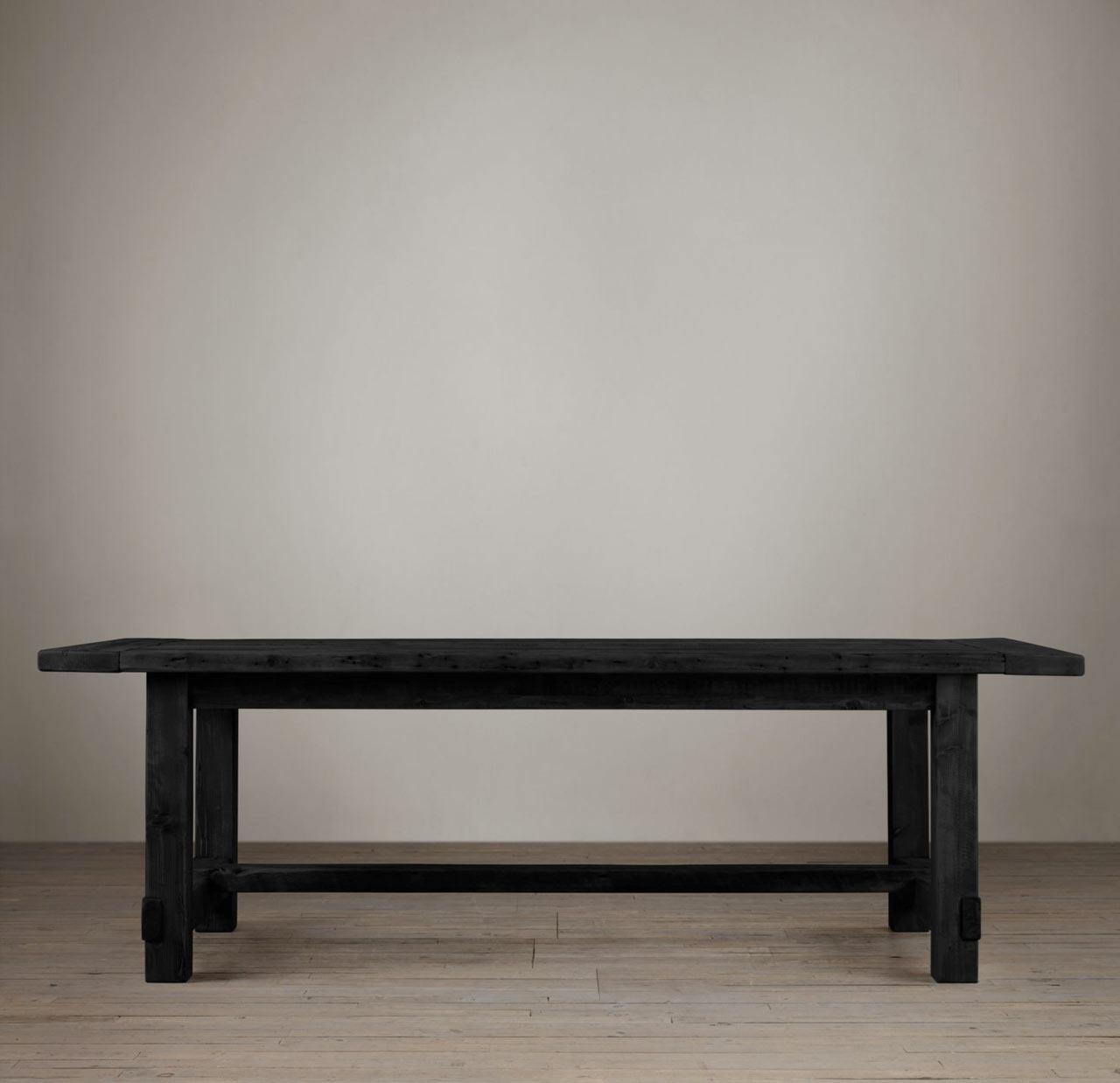 restoration-hardware-farmhouse-salvaged-table-black