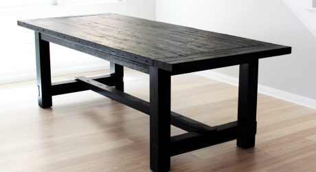 The Most Awesome Dining Table Ever + Some Stuff About Imperfection