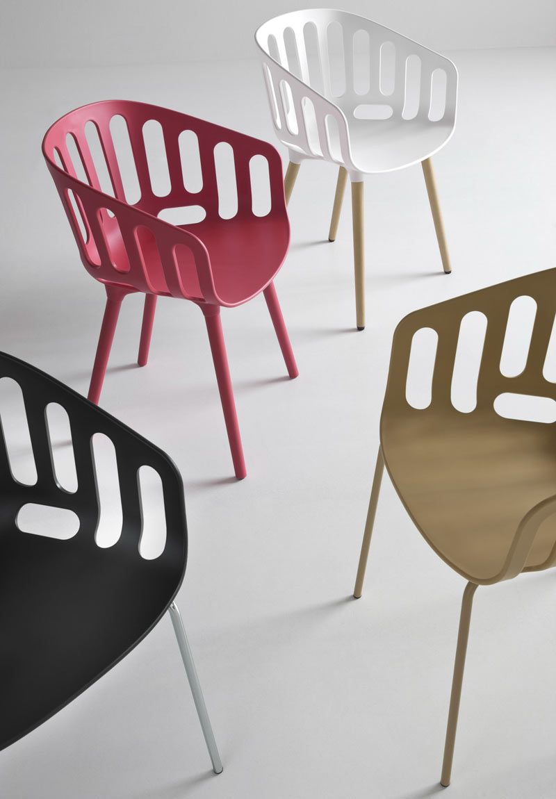 Basket Chair by Alessandro Busana for Gaber