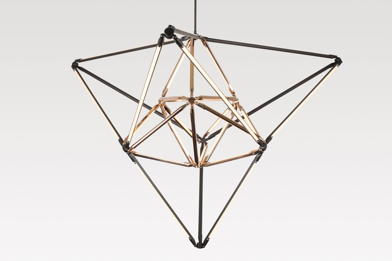 Bec Brittain's New Modern Geometric Lighting