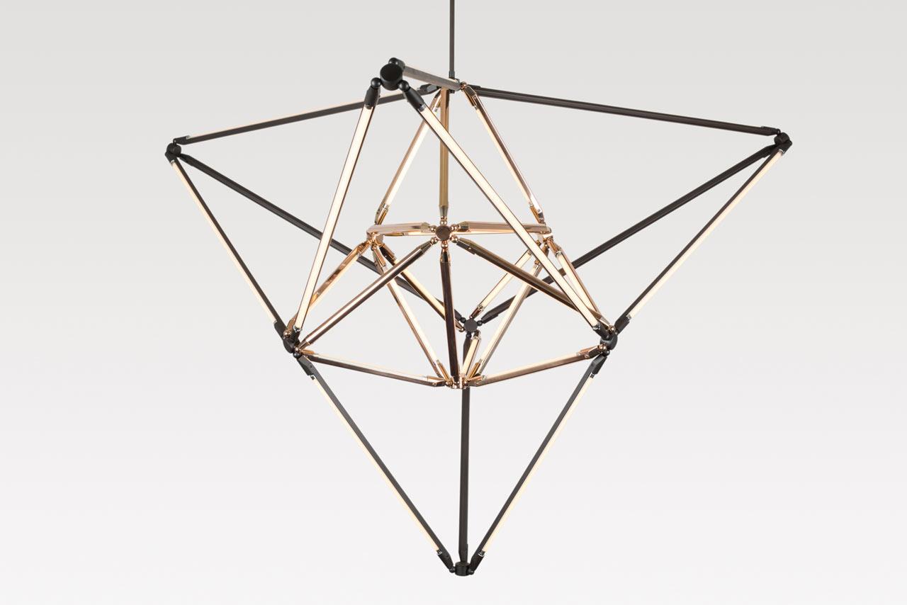 Bec Brittain's New Modern Geometric Lighting