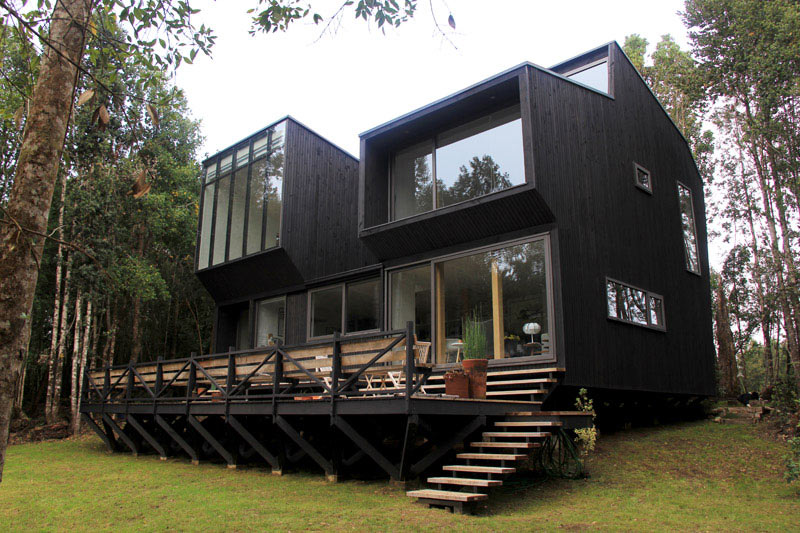 A Woodsy Retreat in Chile