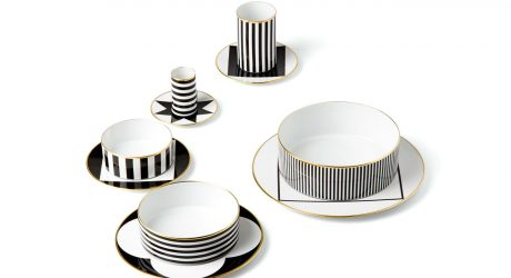 An Opulent & Graphic Dinner Service Collection