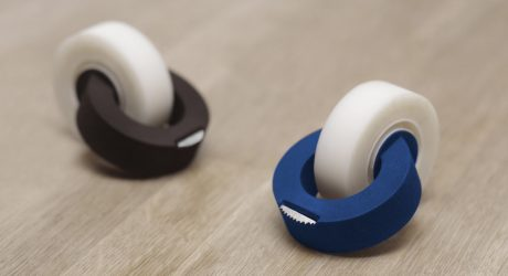 A Redesigned, Minimalist Tape Dispenser