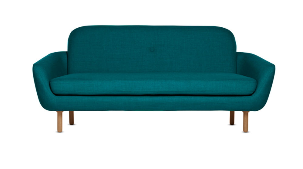 Cup Loveseat Teal