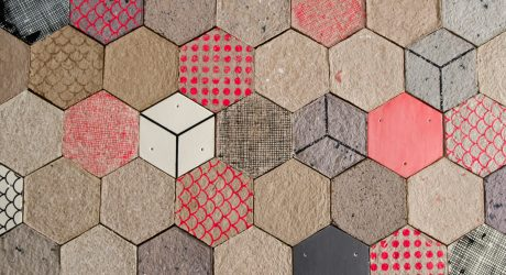 Wallpapering: Tiles Made of Paper by Dear Human