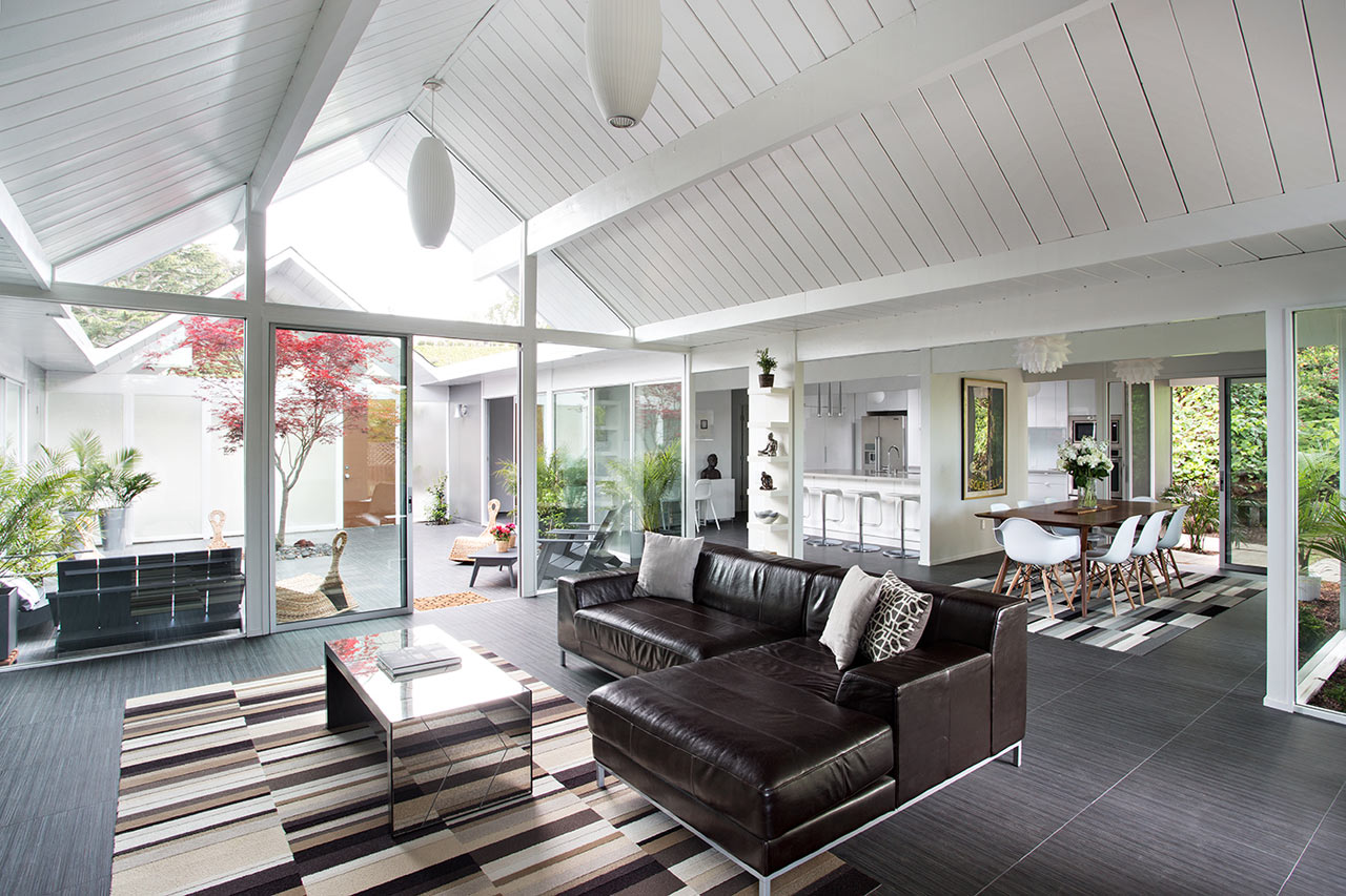 Remodeled Eichler Home In California