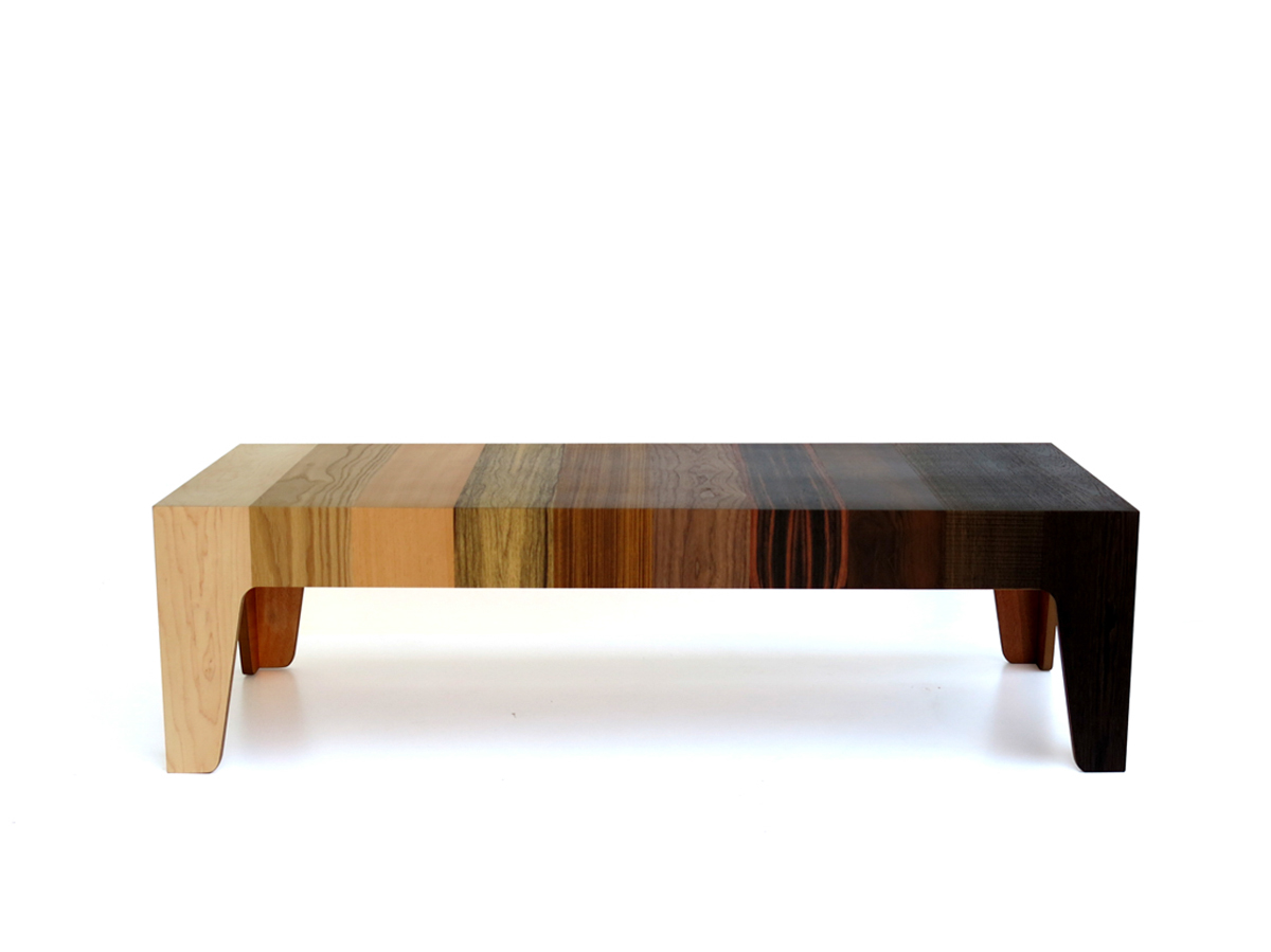 Captivating Gradient Coffee Table By Eli Chissick ...