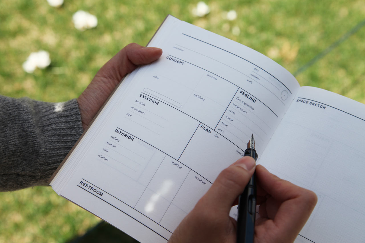 A Journal to Capture Memories of Your Favorites Spaces
