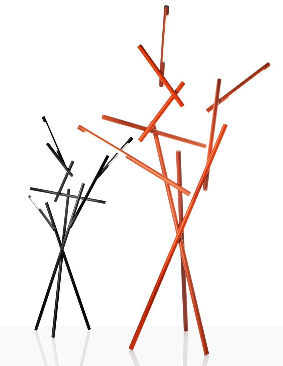 Tuareg: Architectural Branch-Like Lamps from Foscarini