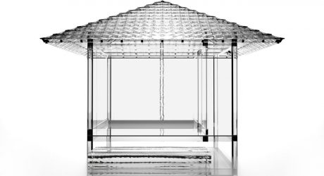 Glass Tea House by Tokujin Yoshioka