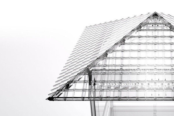 Glass Tea House by Tokujin Yoshioka   in main architecture  Category