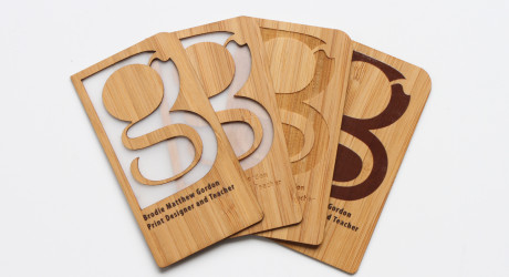 Grovemade Introduces Bamboo Business Cards