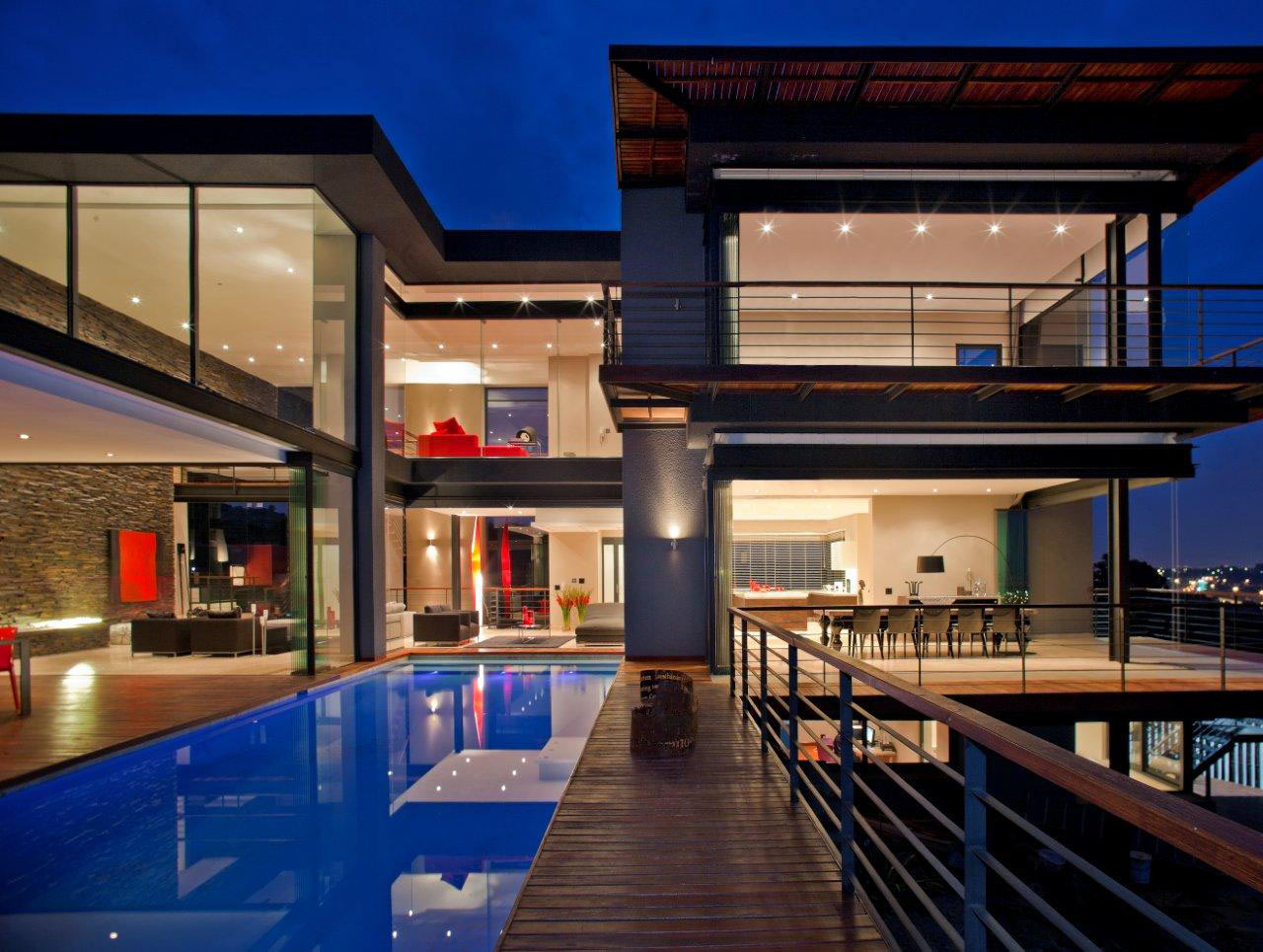 A House Renovated to Focus on the View