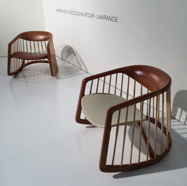 ... from the Windsor chair to redefine the all-American rocking chair