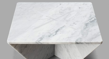 Annex: Snap Fit Marble Tables by Joe Doucet