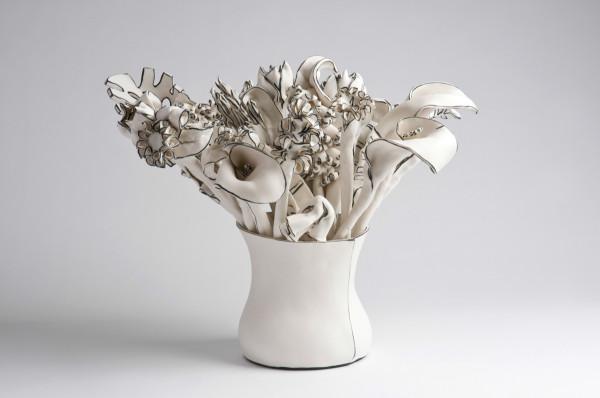 Katharine Morling Vase of stemssmaller