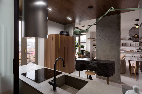 Industrial Apartment Inspired By Kenzo Style Design Milk