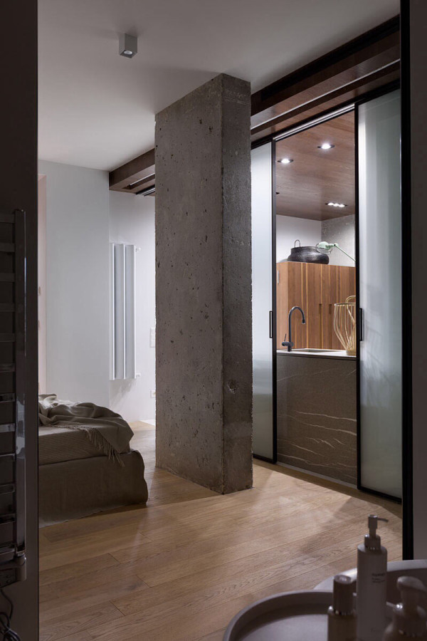 Industrial Apartment Inspired by KENZO Style in main interior design  Category