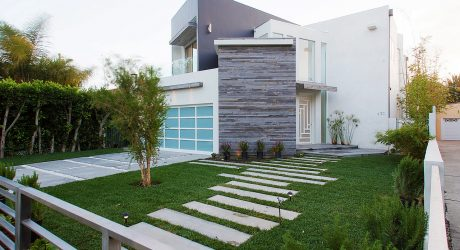 An Unconventional House with an Asymmetrical Floor Plan