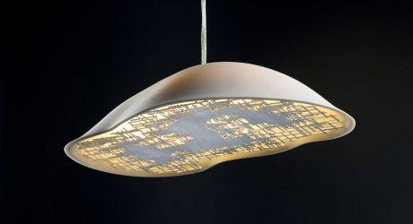 TALISSE: Cloud-Like Porcelain Lamps for MODISS