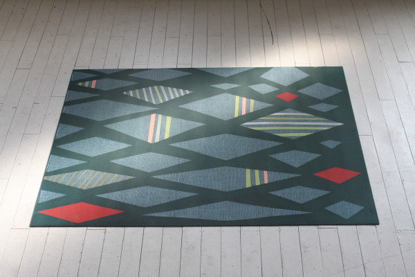 Patterned Floor Mats by Domestic Construction in main home furnishings  Category