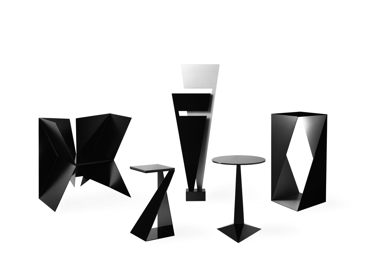 Creative Furniture Design Creative Geometric Furniture Made Of Basic Shapes Design Milk